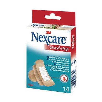3M Nexcare Blood-Stop Pflaster, 14 Streifen sortiert