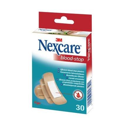 3M Nexcare Blood-Stop Pflaster, 30 Streifen sortiert