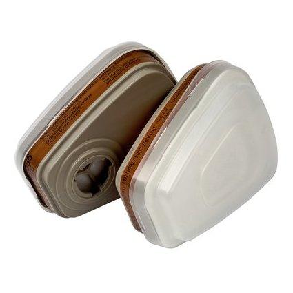3M Ersatzfilter für Atemschutz Halbmaske 6002C