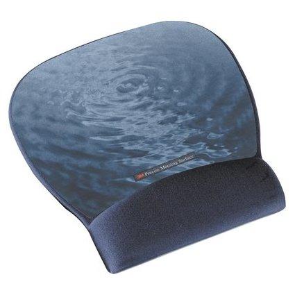 3M Gel Handgelenkauflage mit Mausfläche, Blue Water/blau