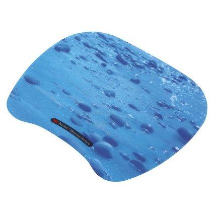 3M Präzisions Maus Pad, superflach, blau Tropfen
