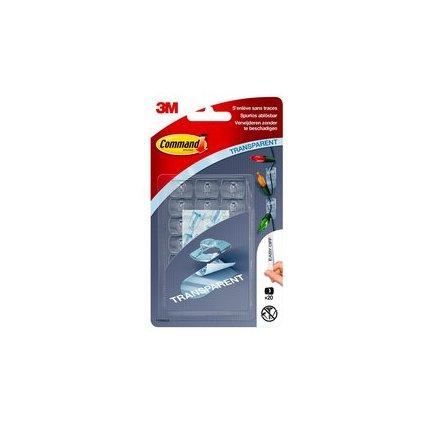 3M Command Deko-Clip, Kunststoff, transparent