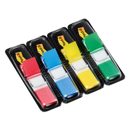 Post-it Haftmarker Index Mini, 11,9 x 43,2 mm, 4-farbig