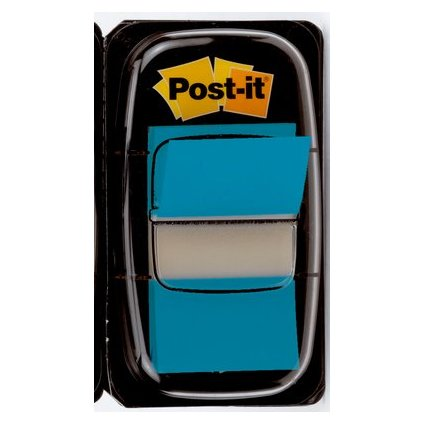Post-it Haftmarker Index, 25,4 x 43,2 mm, türkis