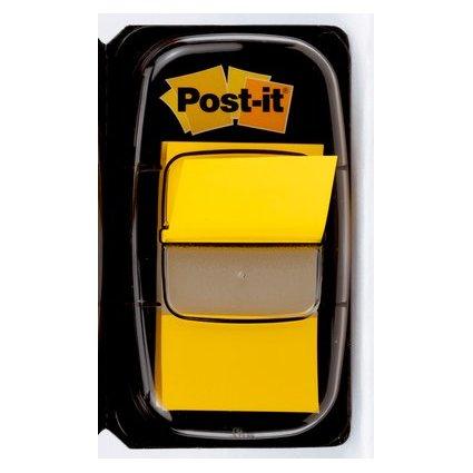 Post-it Haftmarker Index, 25,4 x 43,2 mm, gelb