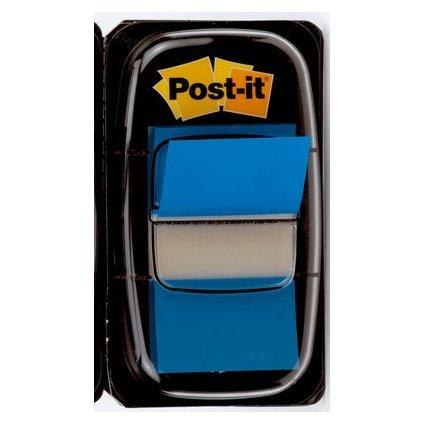 Post-it Haftmarker Index, 25,4 x 43,2 mm, blau