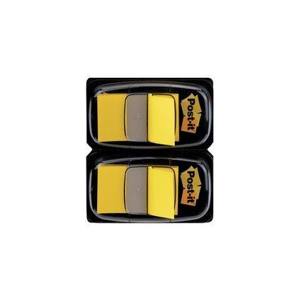 Post-it Haftmarker Index, 25,4 x 43,2 mm, gelb, Vorteilspack