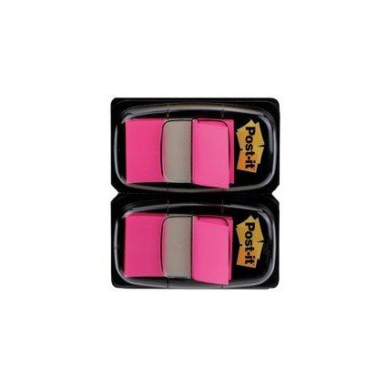 Post-it Haftmarker Index, 25,4 x 43,2 mm, pink, Vorteilspack