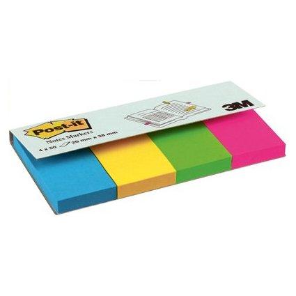 Post-it Pagemarker aus Papier, 20 x 38 mm, Ultrafarben