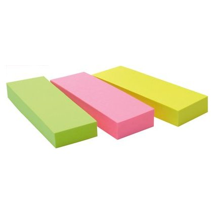 Post-it Pagemarker aus Papier, 25 x 76 mm, Neonfarben