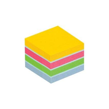 Post-it Haftnotiz-Würfel Mini, 51 x 51 mm, Ultrafarben