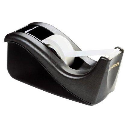 3M Scotch Tischabroller C60, ausklappbar, schwarz