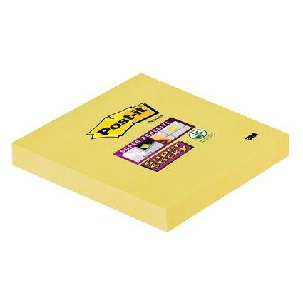 Post-it Haftnotizen Super Sticky Notes, 76 x 76 mm