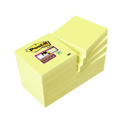 Post-it Haftnotizen Super Sticky Notes, 51 x 51 mm