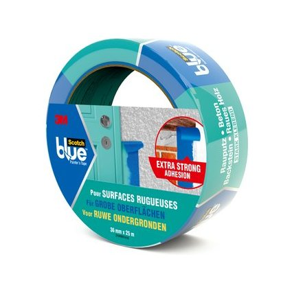 3M ScotchBlue Malerabdeckband, blau, 36 mm x 25 m