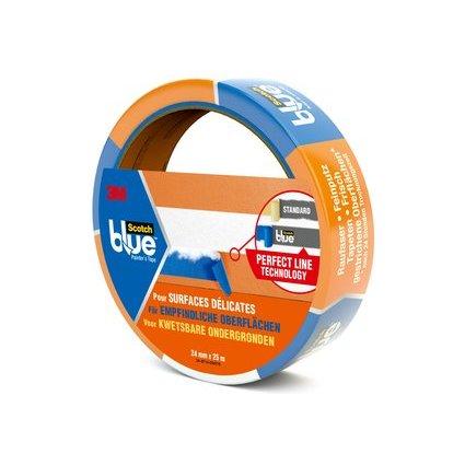 3M ScotchBlue Malerabdeckband, blau, 24 mm x 25 m