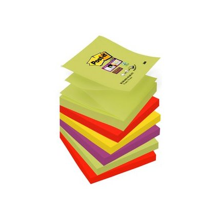 Post-it Haftnotizen Super Sticky Z-Notes, 76 x 76 mm