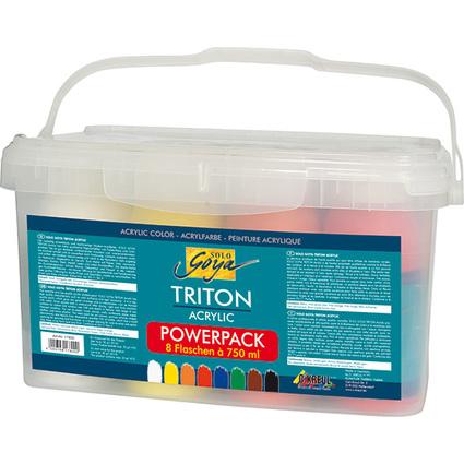 KREUL Acrylfarbe SOLO Goya TRITON, Power Pack