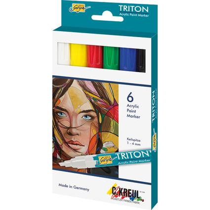 KREUL Acrylmarker SOLO Goya TRITON Acrylic 1.4, 6er-Set