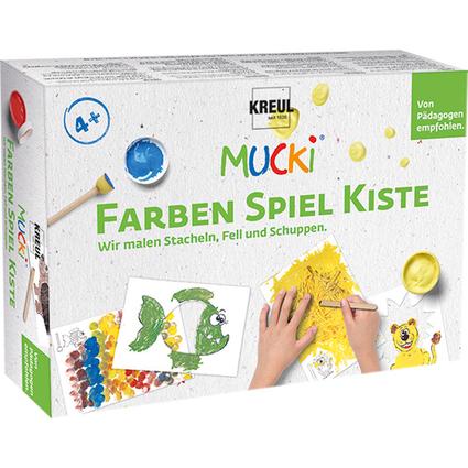 "KREUL Fingerfarbe ""MUCKI"", Farben Spiel Kiste Set"