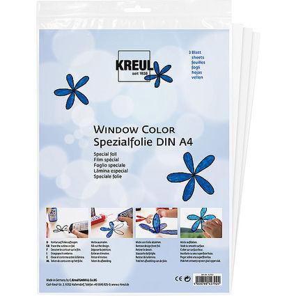 """KREUL Spezialfolie Hobby Line """"Glas Design"""", 350 x 500 mm"""