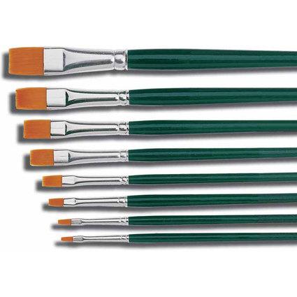 KREUL Haarpinsel Hobby Line BASIC, Nylon, flach, Gr. 4