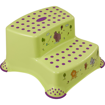 "keeeper kids Tritthocker ""igor hippo"", zweistufig, grün"