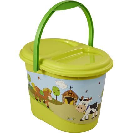"keeeper kids Windeleimer ""karol funny farm"", grün"